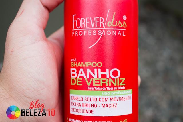 RESENHA NOVO LANÇAMENTO BANHO DE VERNIZ MORANGO FOREVER LISS < BELEZA10 >
