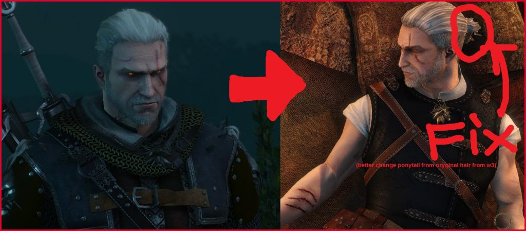 54 Witcher 3 Hairstyles Mod Idea Better Hair