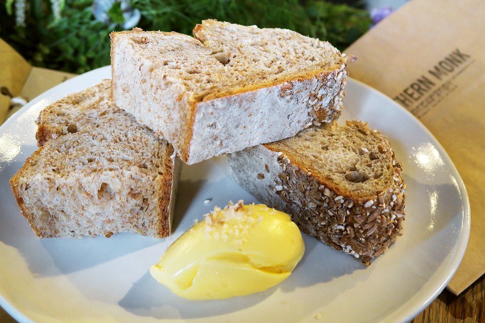 Beer Bread from Edward Street Bakery and Smoked Butter