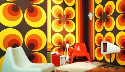 Retro mod style decorating ideas and decor