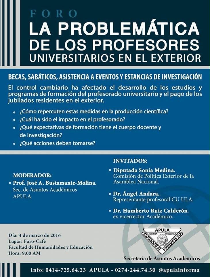 Apula informa on line for Profesores exterior