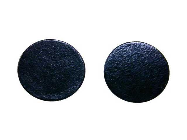 flat black earrings for men - photo #28