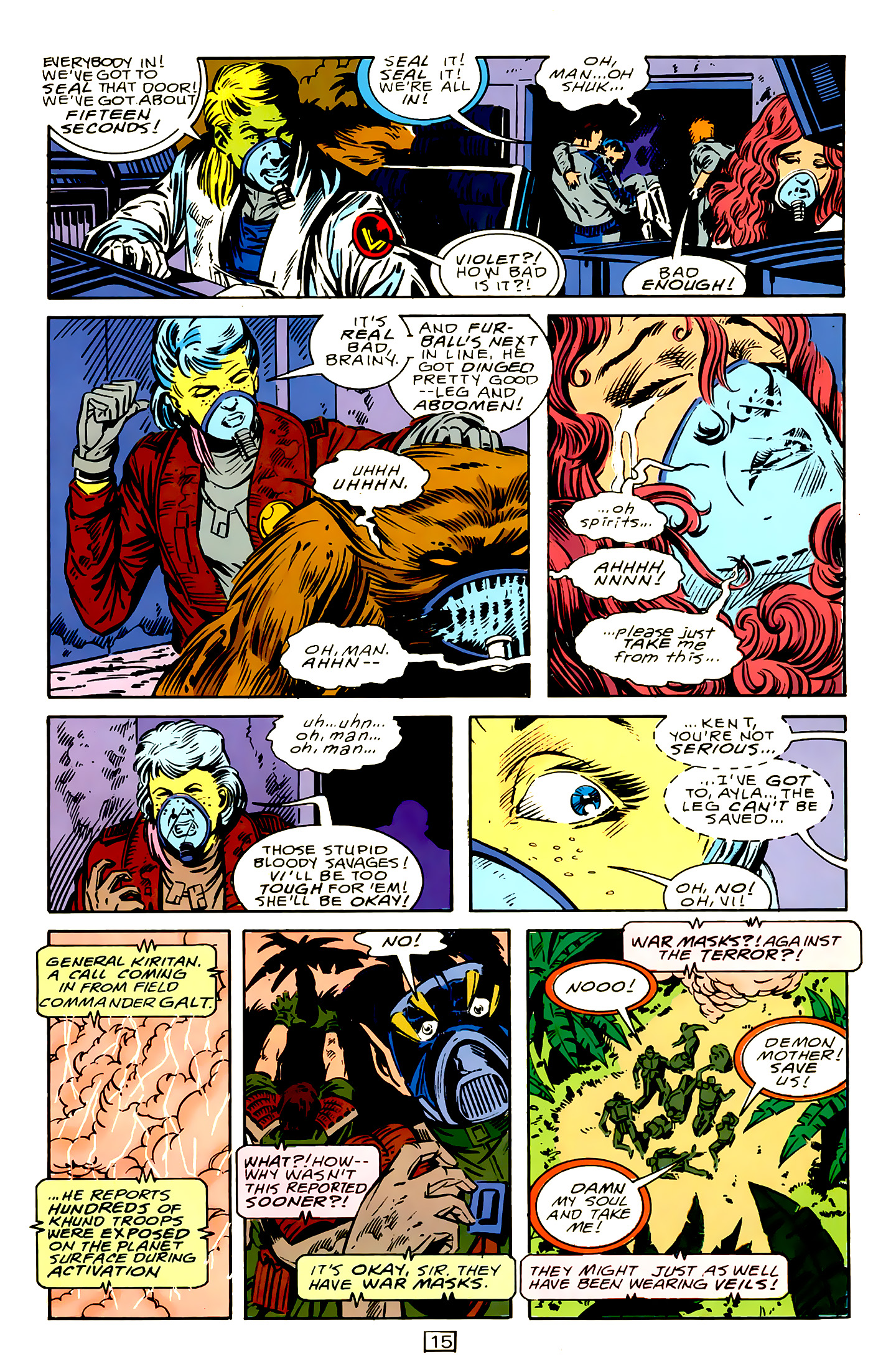Legion of Super-Heroes (1989) 15 Page 15