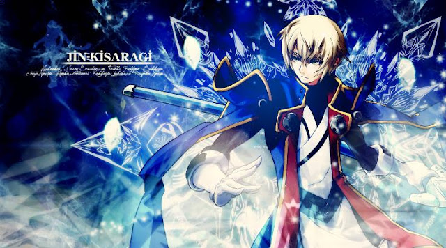 Jin Kizaragi ( BlazBlue ) - Top Strongest Anime Characters with Ice Power