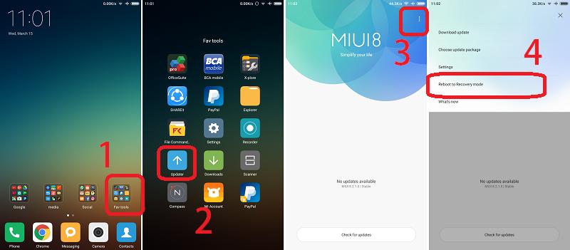 Cara Menghapus Iklan di Xiaomi Redmi Note 2 dengan Ganti ROM MIUI 8.1.2