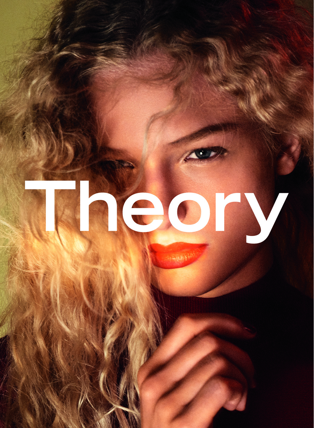 Frederikke Sofie for Theory Autumn/Winter 2016 Campaign