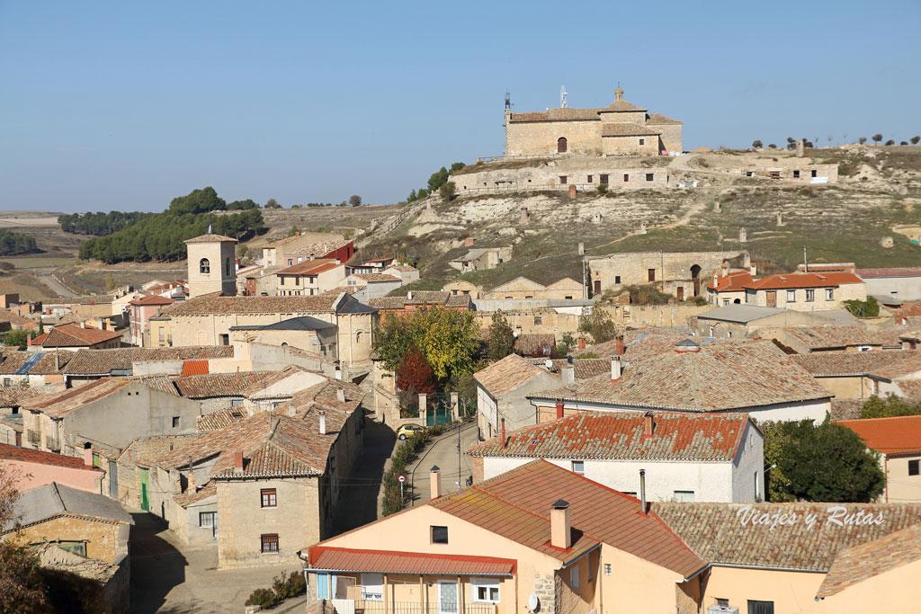 Ermita de Santa María del Castillo en lo alto de Trigueros del Valle