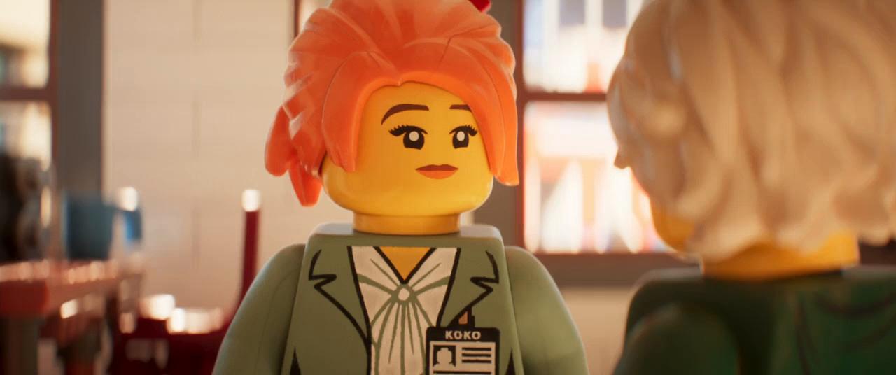 Lego Ninjago: La película (2017) BRRip 720p Latino - Ingles captura 1