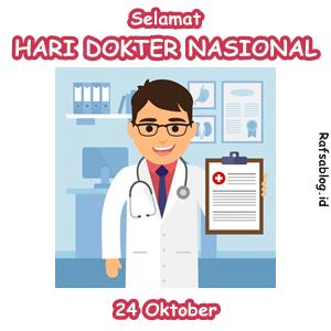 Kata kata dan Kartu Ucapan Hari Dokter Nasional 24 Oktober