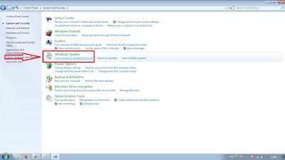 Cara Mematikan Auto Update di Windows 7