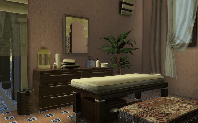 maison avec salle de massage sims 4