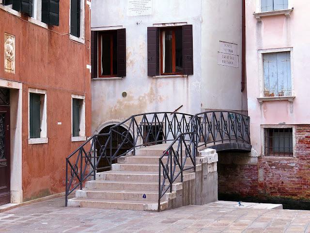 Ponte Vitturi, Rio del Duca, San Marco, Venice