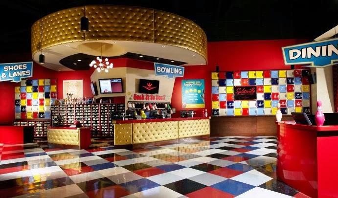 Boliche SplitsVille Luxury Lanes em Orlando