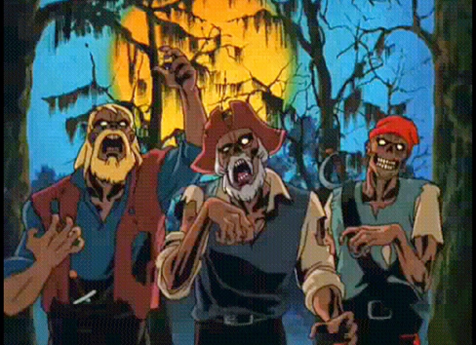 Scooby-Doo Na Ilha dos Zumbis