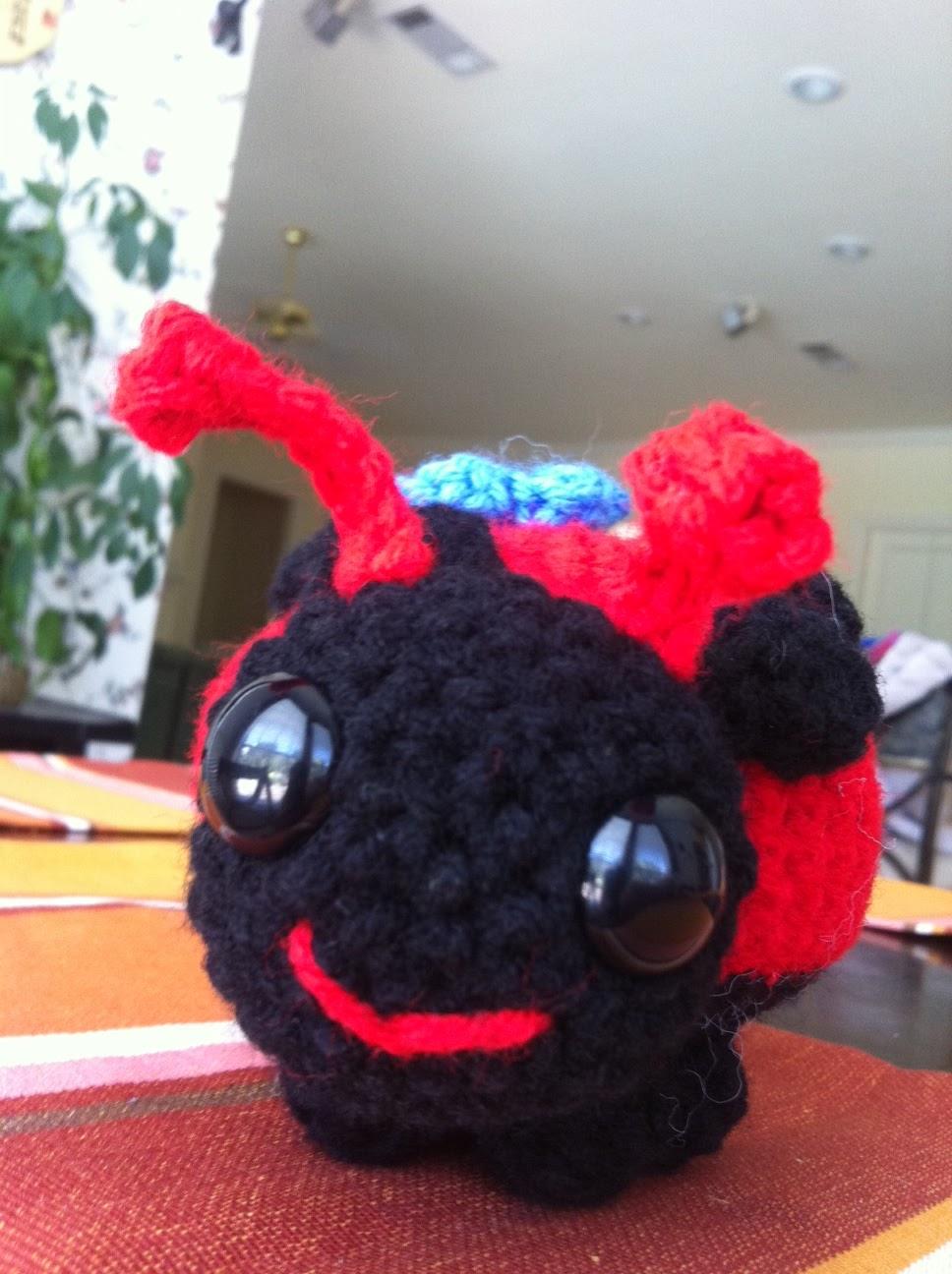 Little Black Marker: Lovely Ladybug