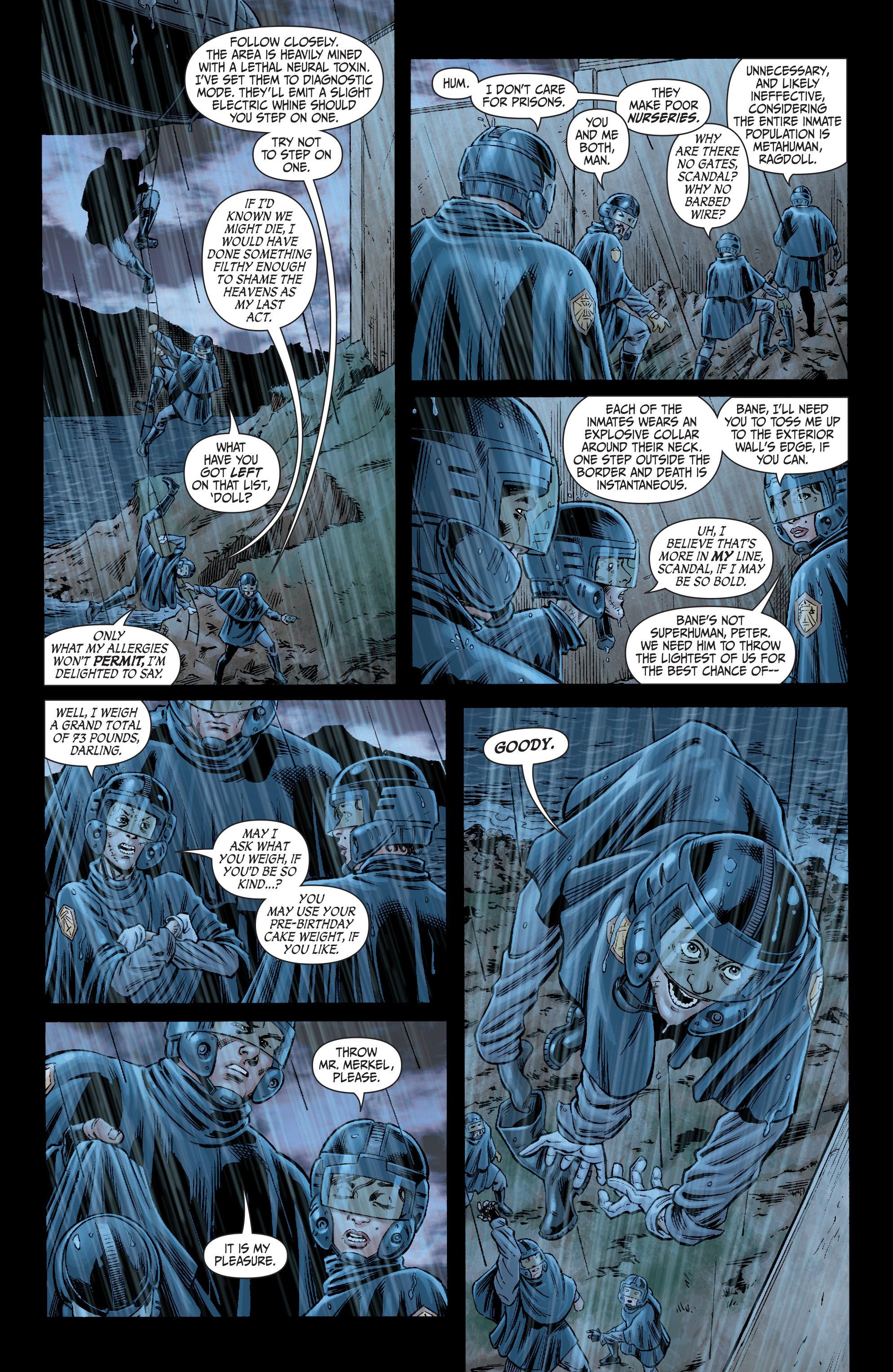 Read online Secret Six (2008) comic -  Issue #2 - 10