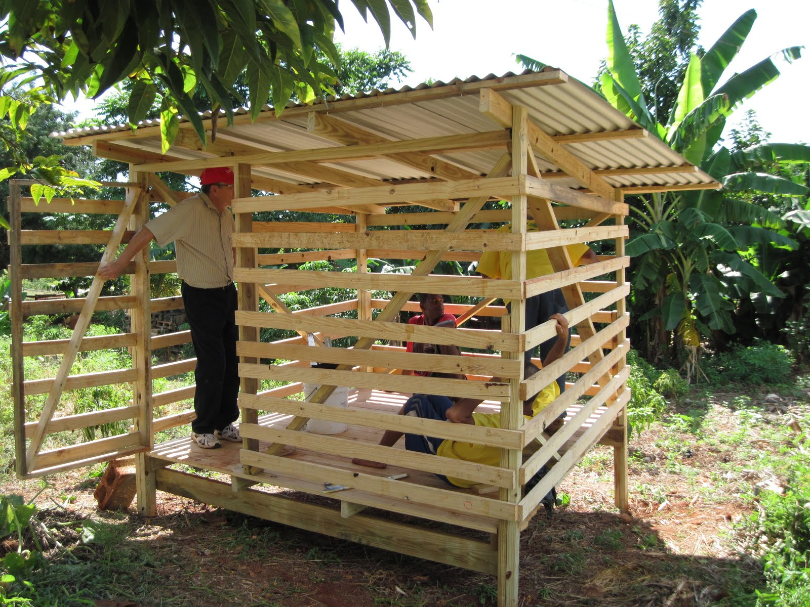 Smith S Jamaican Mission Goat Pens