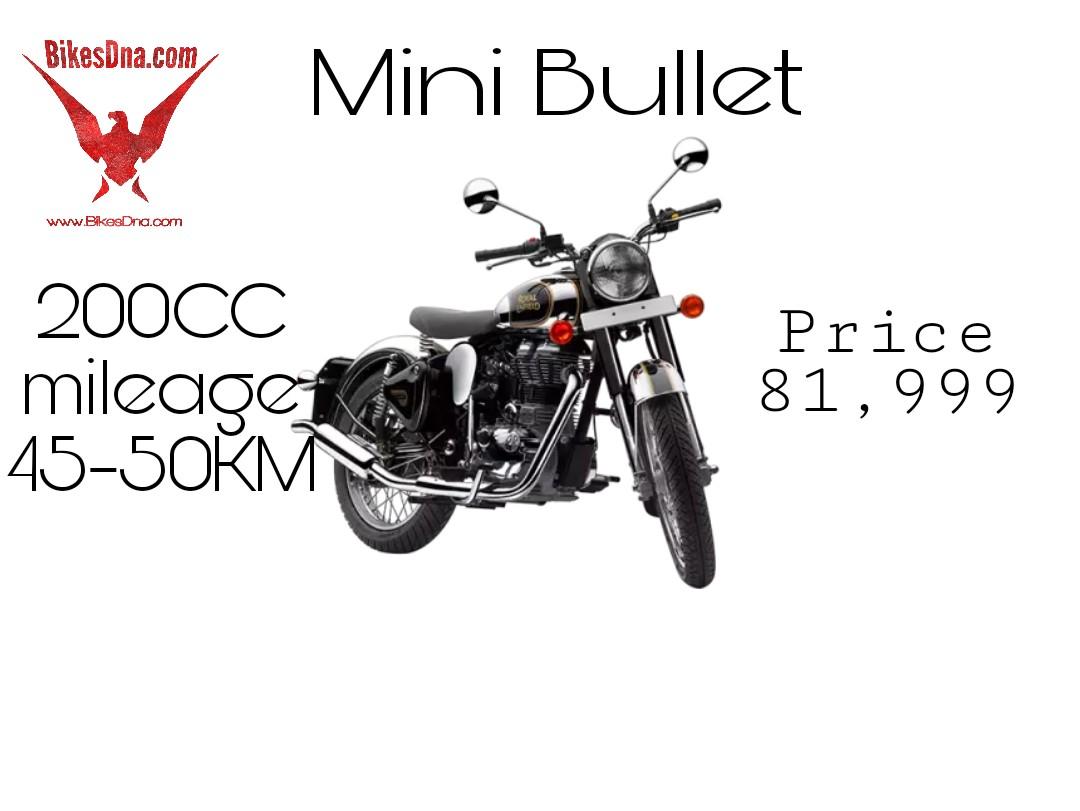 Royal Enfield 200cc Mini Bullet Mini Bullet Launch Date Price