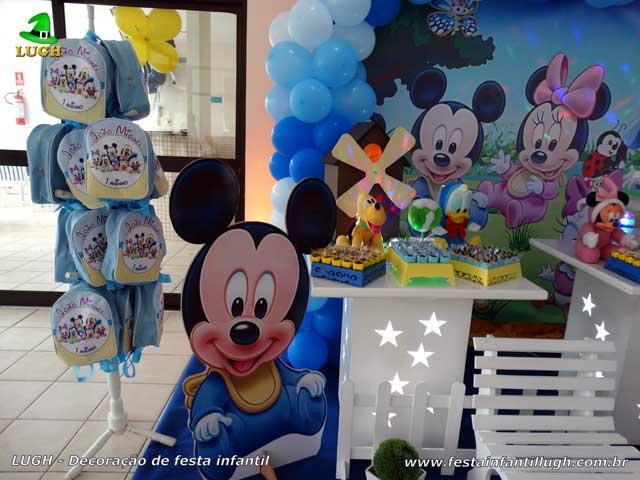 Decoração de festa de aniversário infantil Baby Disney