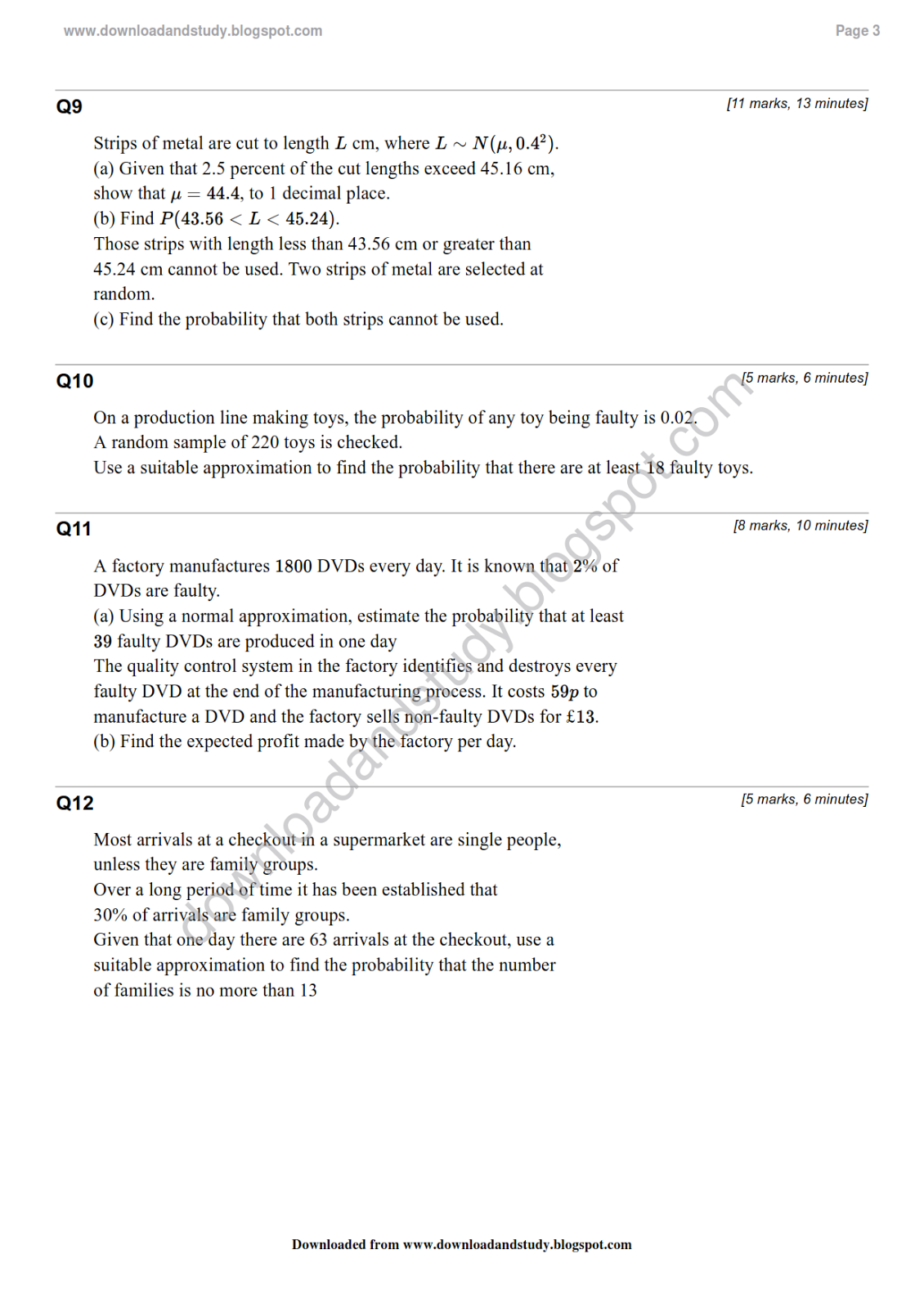 Standard Deviation Worksheet High School