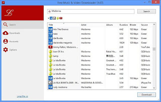 Free Music and Video Downloader Portable