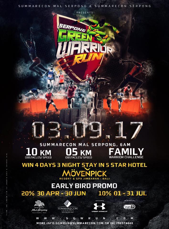 Serpong Green Warrior Run • 2017