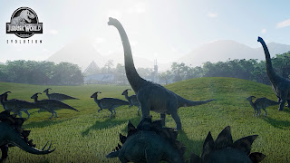 Jurassic World Evolution HD Wallpaper