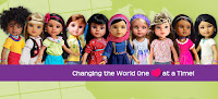 dolls, cultural dolls, toys, World Vision, holiday gifts