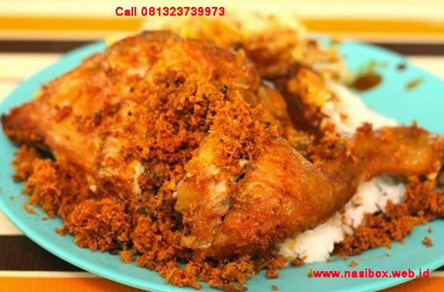 Resep ayam goreng ala padang-nasi box situ patenggang ciwidey