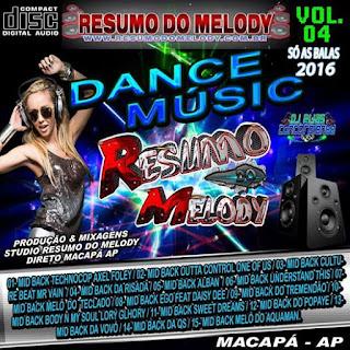 Cd Dance Music 2016 vol.04 - Produção & Mixagens - Studio Rdm - Macapá Ap