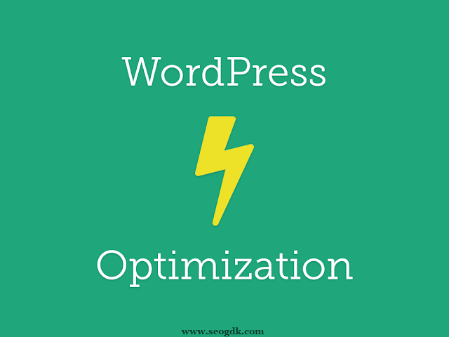 WordPress Web Optimization