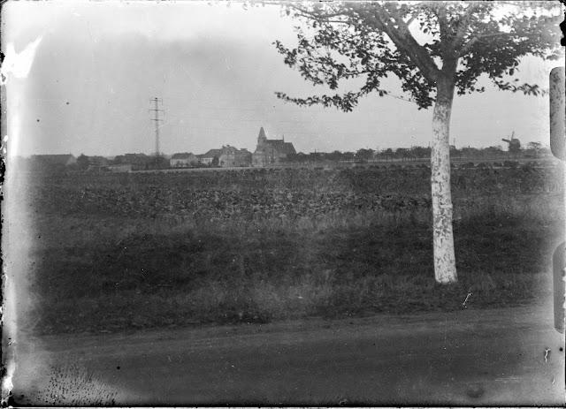Dölzig - Blick aus West - 1930-1940