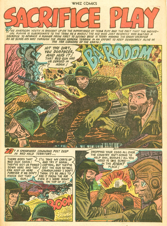 WHIZ Comics #155 #156 - English 29