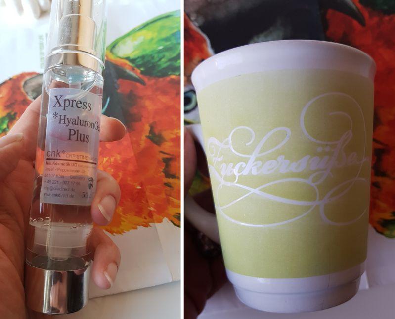 CNK XPress Hyaluron Plus Gel und Zuckersüßes Tasse