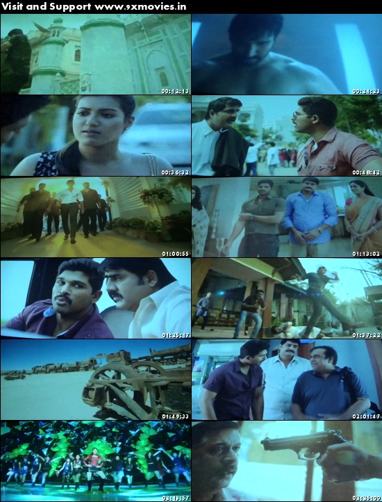Sarrainodu 2016 Telugu DVDScr x264 850MB