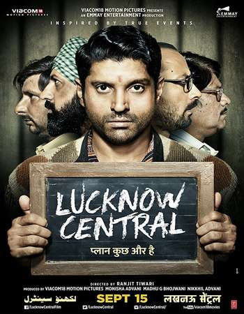 Watch Online Bollywood Movie Lucknow Central 2017 300MB BRRip 480P Full Hindi Film Free Download At WorldFree4u.Com