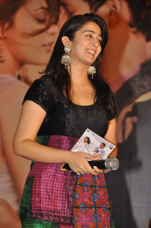beloved stylish gorgeous sexy Charmee latest photos at saradaga ammailatho audio launch