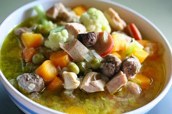 resep sop ayam kampung enak