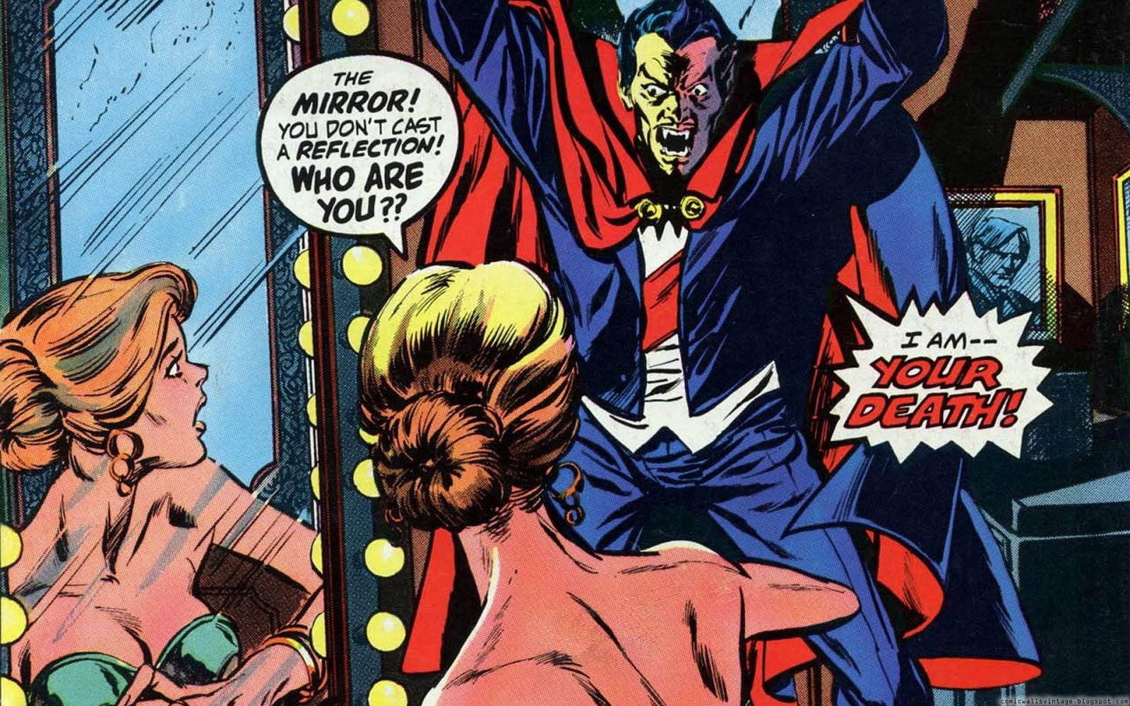 Tomb Of Dracula Vintage Comic Wallpaper
