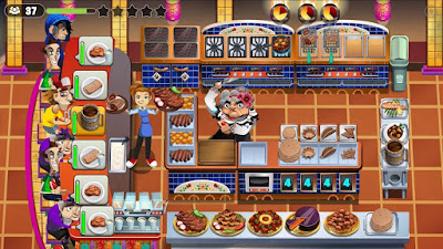 Free Download COOKING DASH 2016 MOD APK Terbaru
