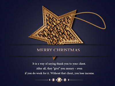greetings for clients on christmas