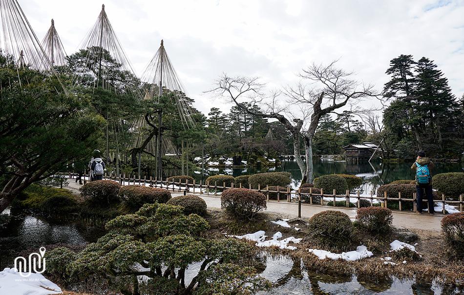 สวน Kenrokuen เมือง Kanazawa