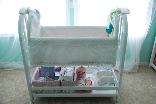 Kathryn Church Design Bassinet Makeover