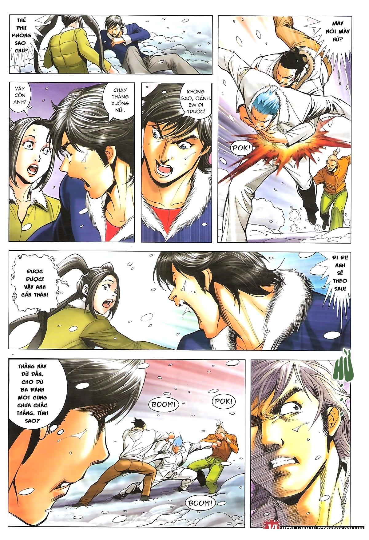 Người Trong Giang Hồ - Chapter 1614: Tiễn mày lên đường - Pic 13