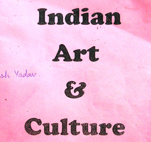 Indian Art & Culture Hand Written Notes PDF Download