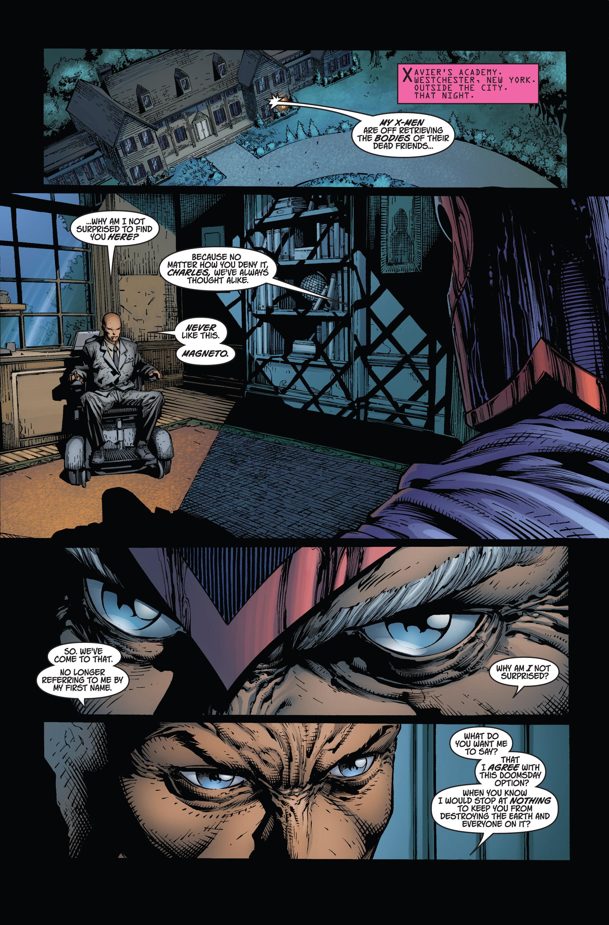 Read online Ultimatum comic -  Issue #2 - 22