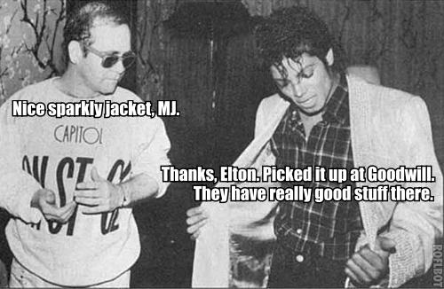 MJ Elton John Meme