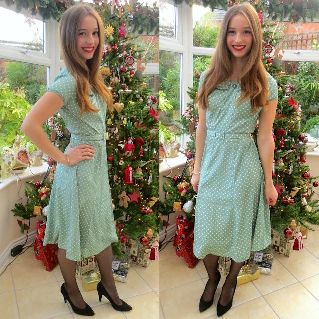 Spring modest dress