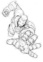 nick fury coloring pages free printable cool nick fury from