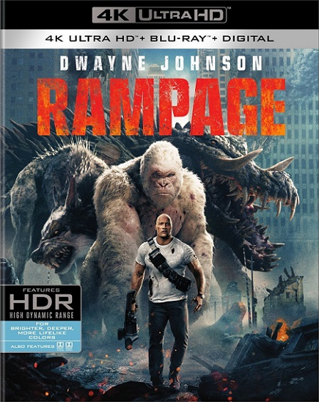 Rampage: Devastación 4K (2018) 2160p 4K UltraHD HDR BluRay REMUX 50GB mkv Dual Audio Dolby TrueHD ATMOS 7.1 ch